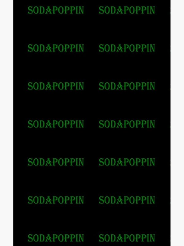 artwork Offical Sodapoppin Merch