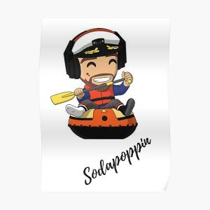 Sodapoppin  Poster RB1706 product Offical Sodapoppin Merch