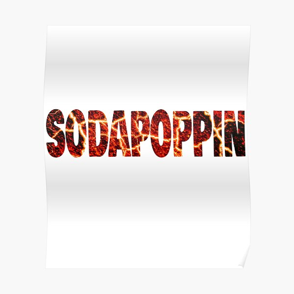 Sodapoppin Cracked Lava Poster RB1706 product Offical Sodapoppin Merch