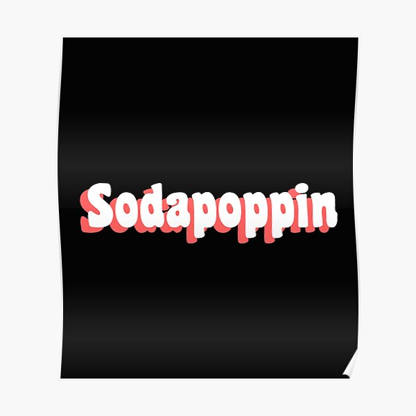 Pink Sodapoppin Trendy Poster RB1706 product Offical Sodapoppin Merch