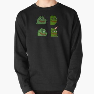sodapoppin smiling emotes pack Pullover Sweatshirt RB1706 product Offical Sodapoppin Merch