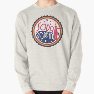 Sodapoppin Retro Soda Pop Bottle Cap Red Yellow Blue Design Pullover Sweatshirt RB1706 product Offical Sodapoppin Merch