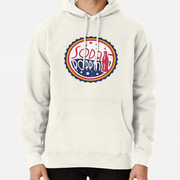 Sodapoppin Retro Soda Pop Bottle Cap Red Yellow Blue Design Pullover Hoodie RB1706 product Offical Sodapoppin Merch
