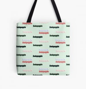 Sodapoppin STICKER PACK All Over Print Tote Bag RB1706 product Offical Sodapoppin Merch