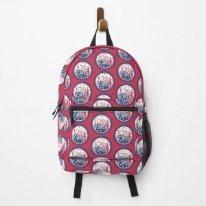 Sodapoppin Retro Soda Pop Bottle Cap Vintage Distressed Red Design Backpack RB1706 product Offical Sodapoppin Merch