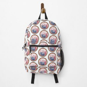 Sodapoppin Retro Soda Pop Bottle Cap Red Yellow Blue Design Backpack RB1706 product Offical Sodapoppin Merch