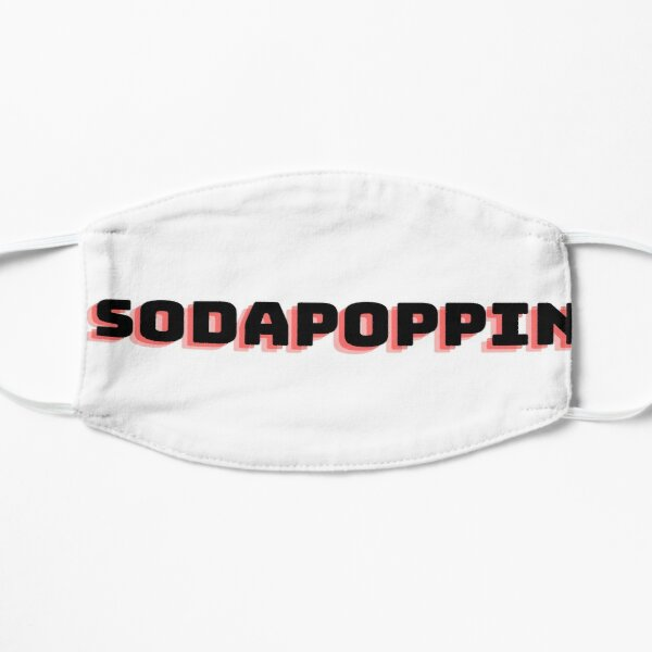 Sodapoppin Flat Mask RB1706 product Offical Sodapoppin Merch