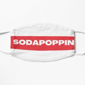 sodapoppin twitter trend 2020 Flat Mask RB1706 product Offical Sodapoppin Merch