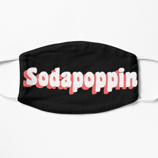 Pink Sodapoppin Trendy Flat Mask RB1706 product Offical Sodapoppin Merch