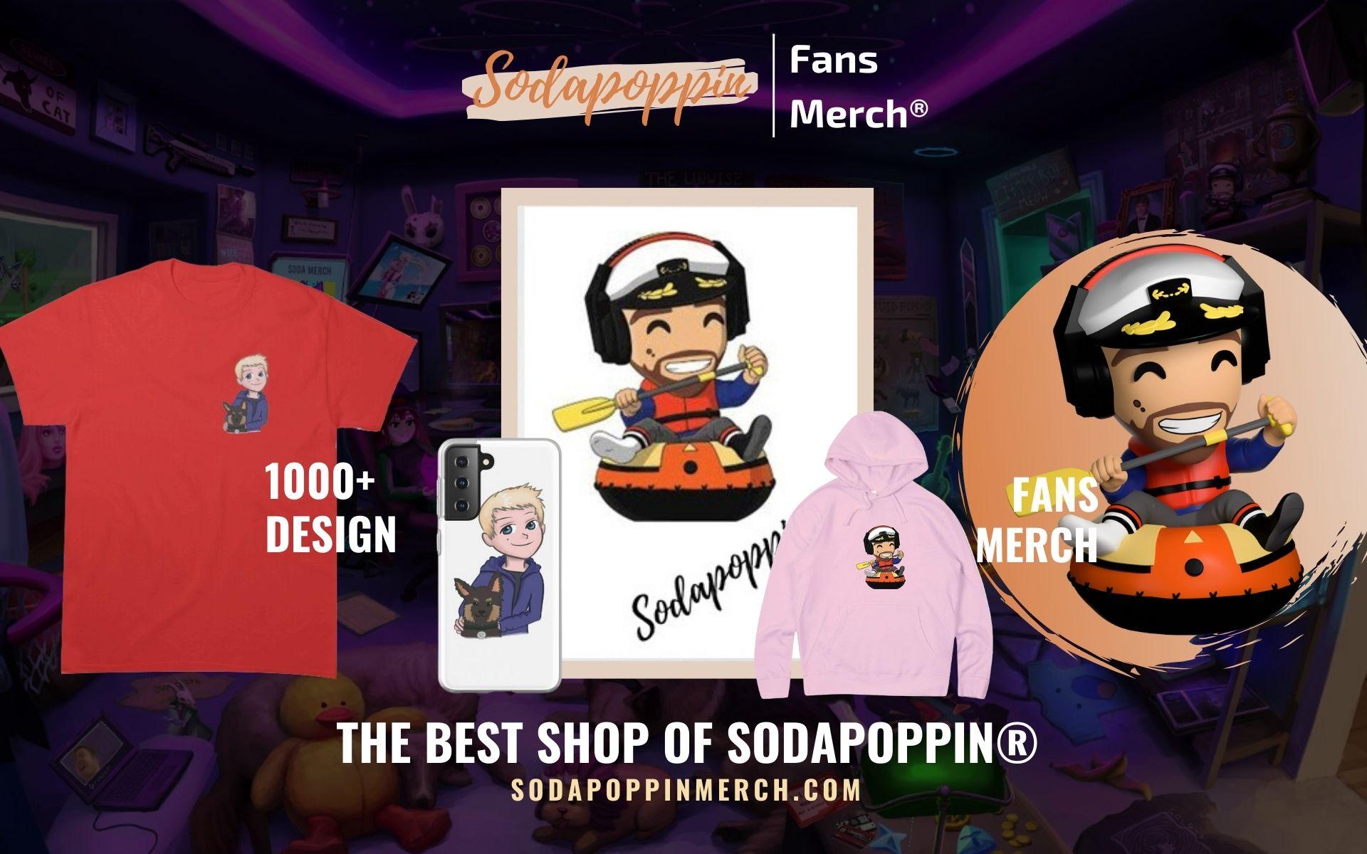 Sodapoppin Merch Web Banner - Sodapoppin Store